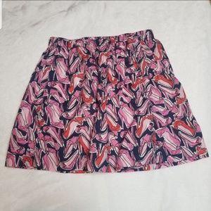 Lilly Pulitzer   Break A Leg Poplin Pocket Skirt